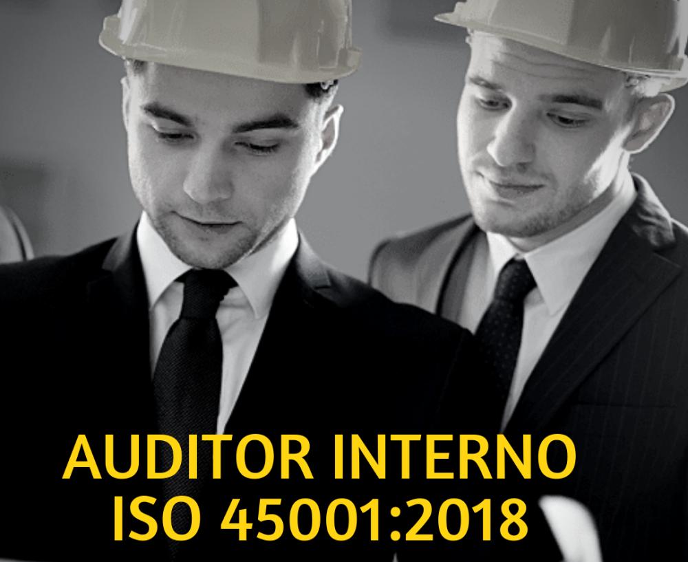 Auditor Interno de Sistema de Gestión de Seguridad y Salud en el Trabajo ISO 45001