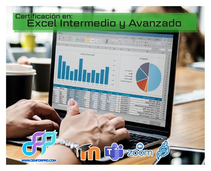 Excel Básico, Intermedio y Avanzado